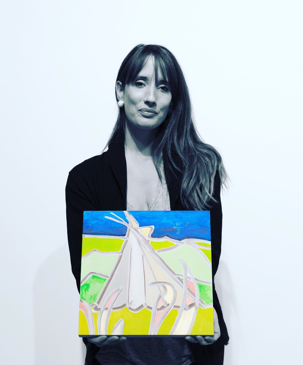 Conversation Project Nyc This Is April Hesian Top White Shes Known For Her Work That Explores The Sublime And Absurd Through Painting She Has An Upcoming Solo Show