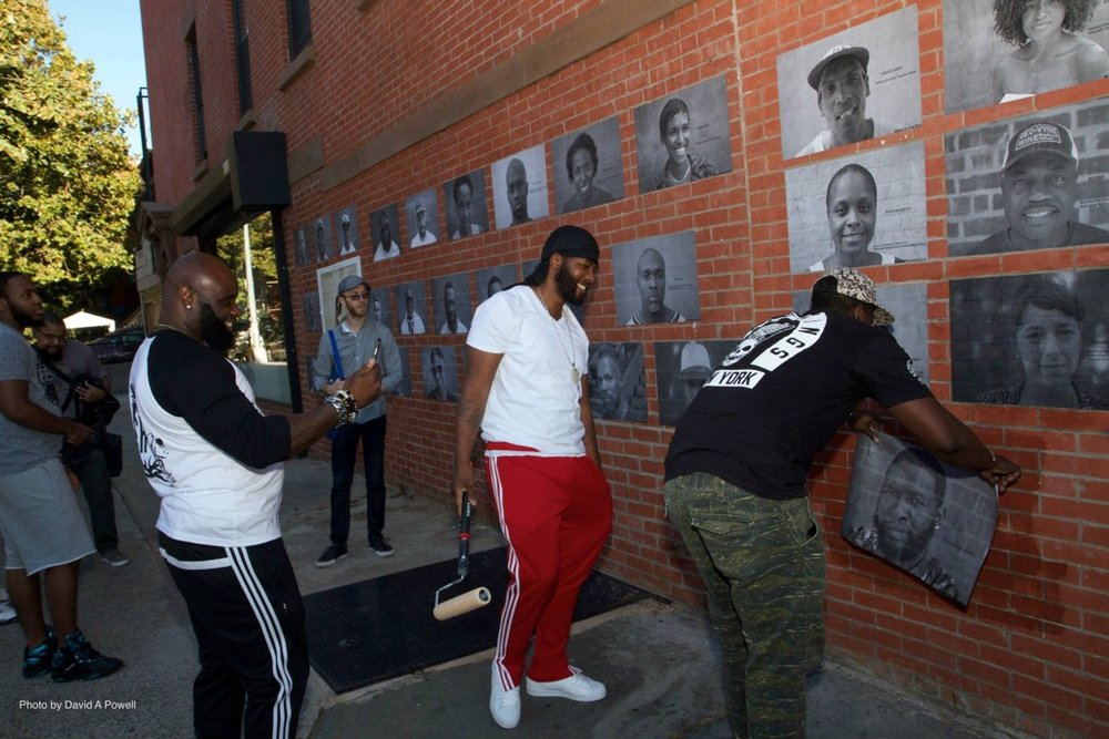Griot In the Stuy Project By Rasu Jilani, photography by Kwesi Abbensetts In Photo: Bedstuy Community