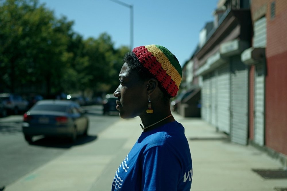 Griot In the Stuy Project By Rasu Jilani, photography by Kwesi Abbensetts