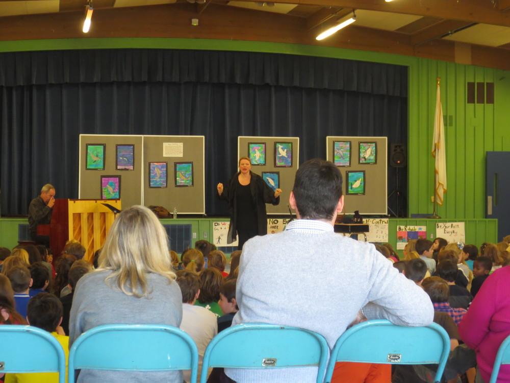 Inspiring children through Opera Outreach    Diana Jacklin