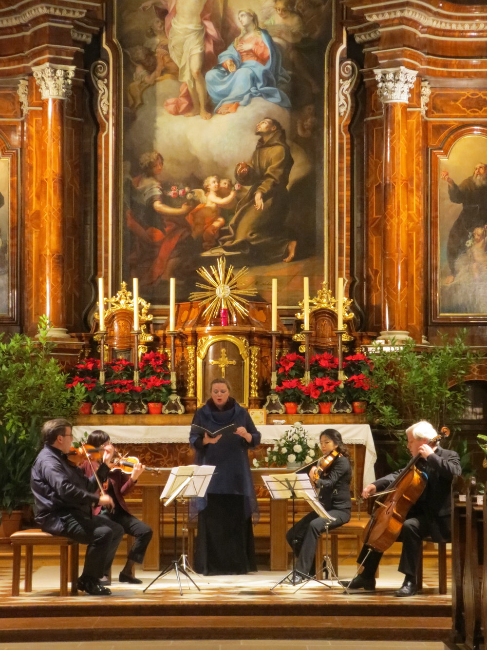 MELOS ENSEMBLE WIEN performing in Vienna on December 30, 2016