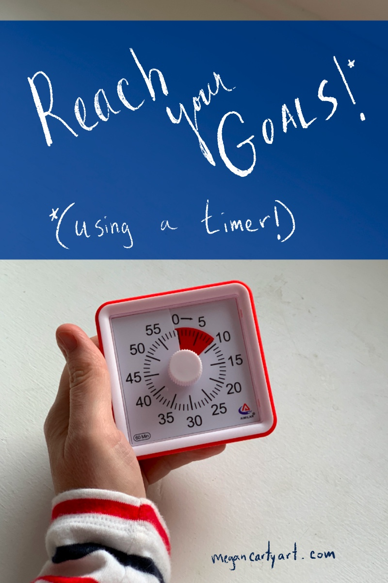 how to reach your goals and increase your productivity using a time timer