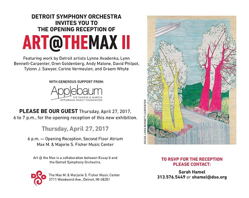 ART AT THE MAX II @ AT THE MAX M. FISHER CENTER (DS0) 04/27-07/18/17