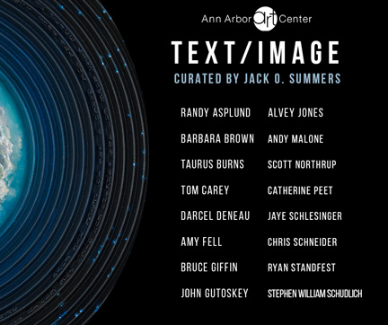TEXT / IMAGE @ THE ANN ARBOR ART CENTER 05/05-06/03/17