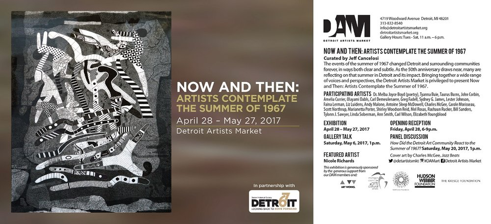 Now and Then: Artists Contemplate the Summer of 1967 @ DAM 04/28-05/27/17
