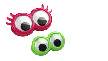 chip clip 2pc Googly Eyes Couple Item #90046