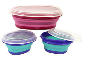 Squish set 3 storage containers Item #41080