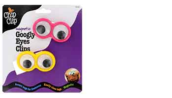 chip clip 2PC Mini GOOGLY EYES ITEM #90047