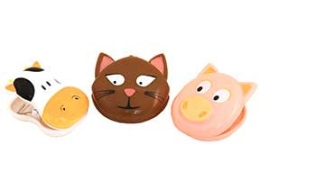 chip clip 3PC FARMYARD CLIPS ITEM #90060