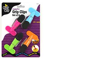 "chip clip 4PC 2"" MEMO CLIPS ITEM #90012"