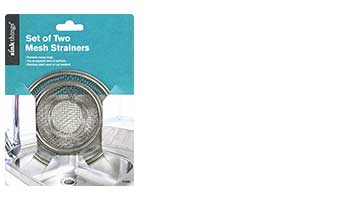 sink things 2pc mesh strainer item #11006