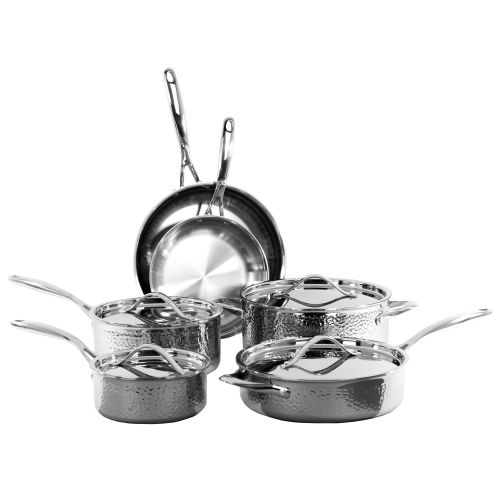 10PC TRIPLY HAMMERED SET (#35035)