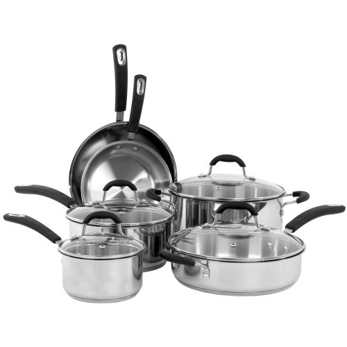 10PC STAINLESS STEEL SET (#35019)