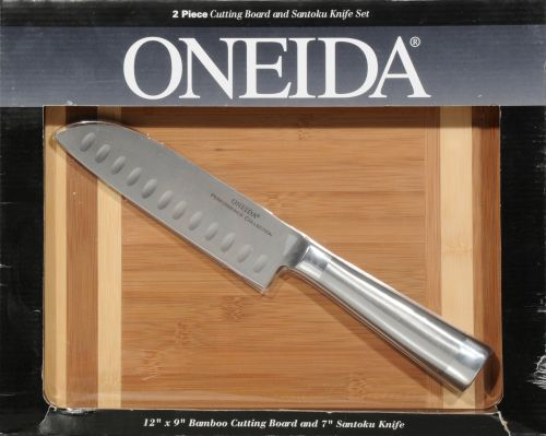 CUTTING BOARD W/ SANTOKU (#57073)