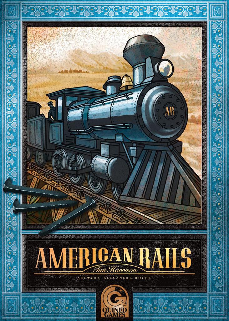 American Rails - Portada