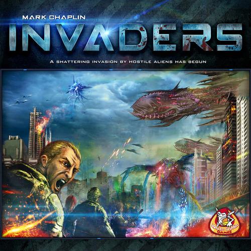 Portada de Invaders