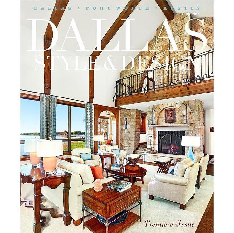 Highlights From The Premier Issue Of Dallas Style Design Kay