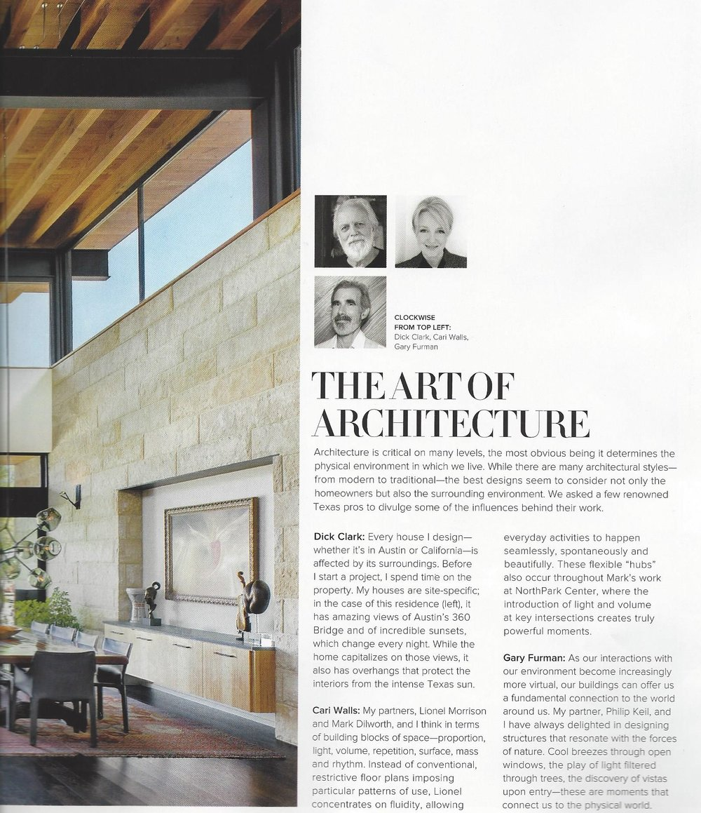 All About Architecture As Seen In Luxe Magazine — Kay Genua Designs