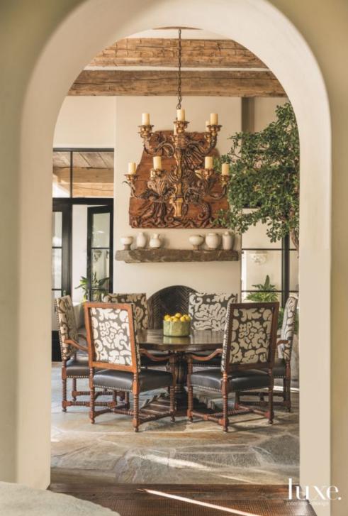 Gorgeous Mediterranean Inspired Home In Dallas — Kay Genua Designs