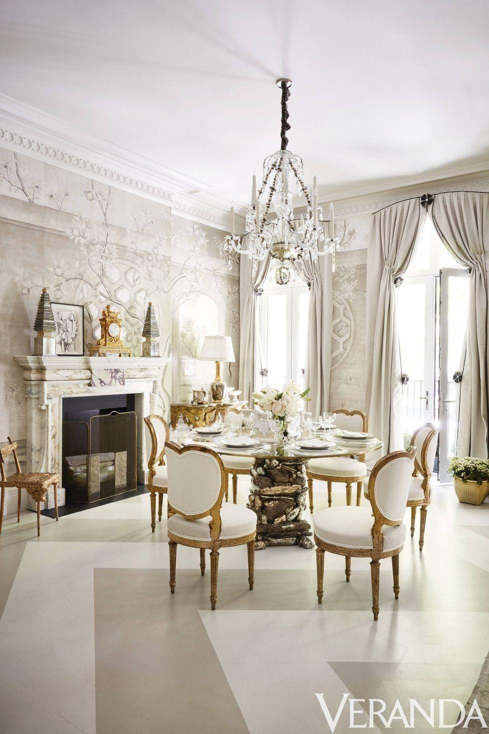 Incredible Fireplace as seen in Veranda Magazine — Kay Genua Designs