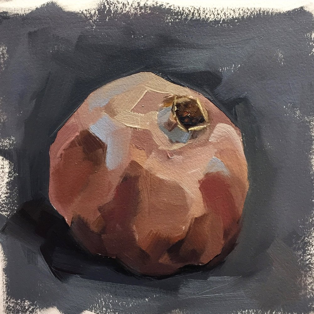 Old pomegranate