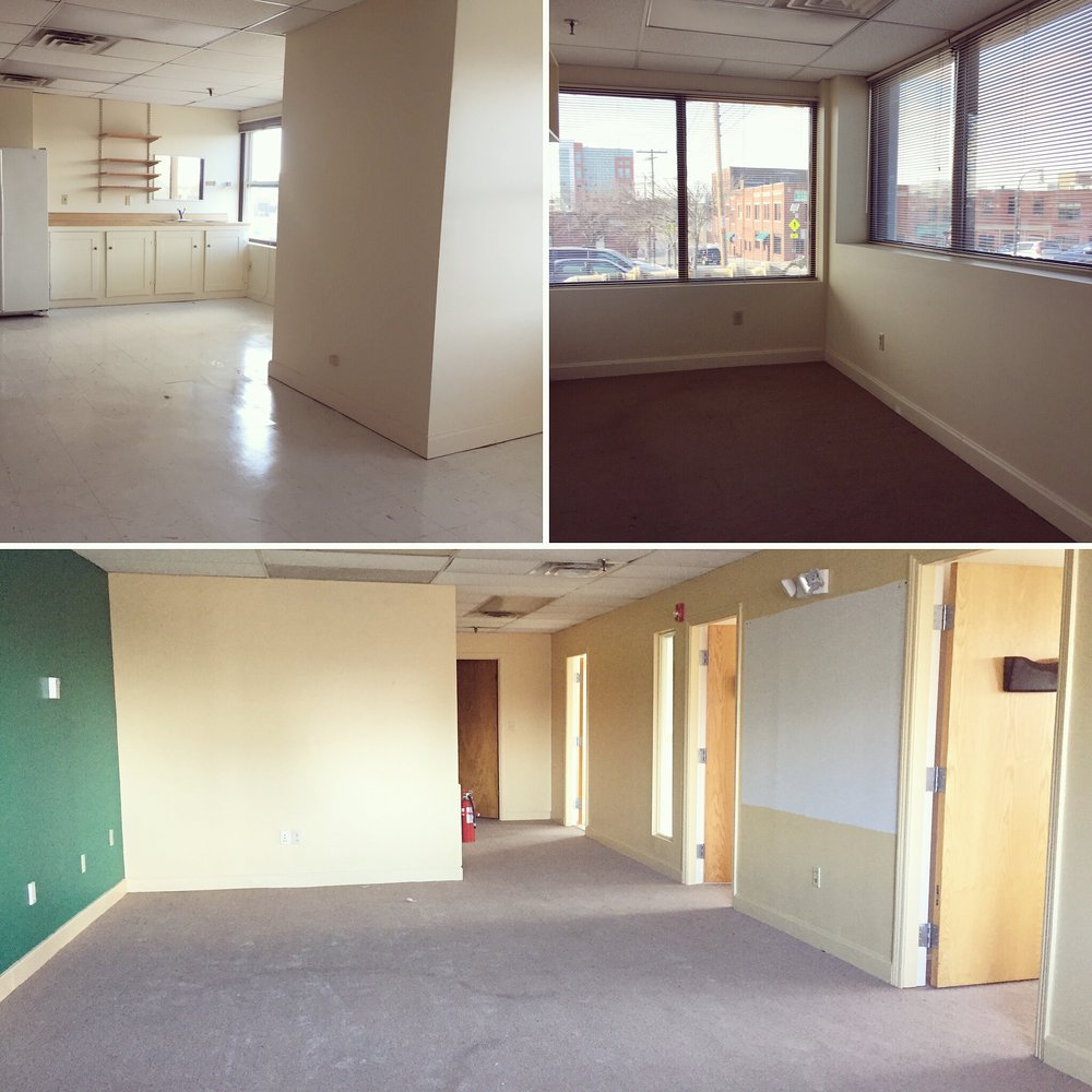 The space before lease signing