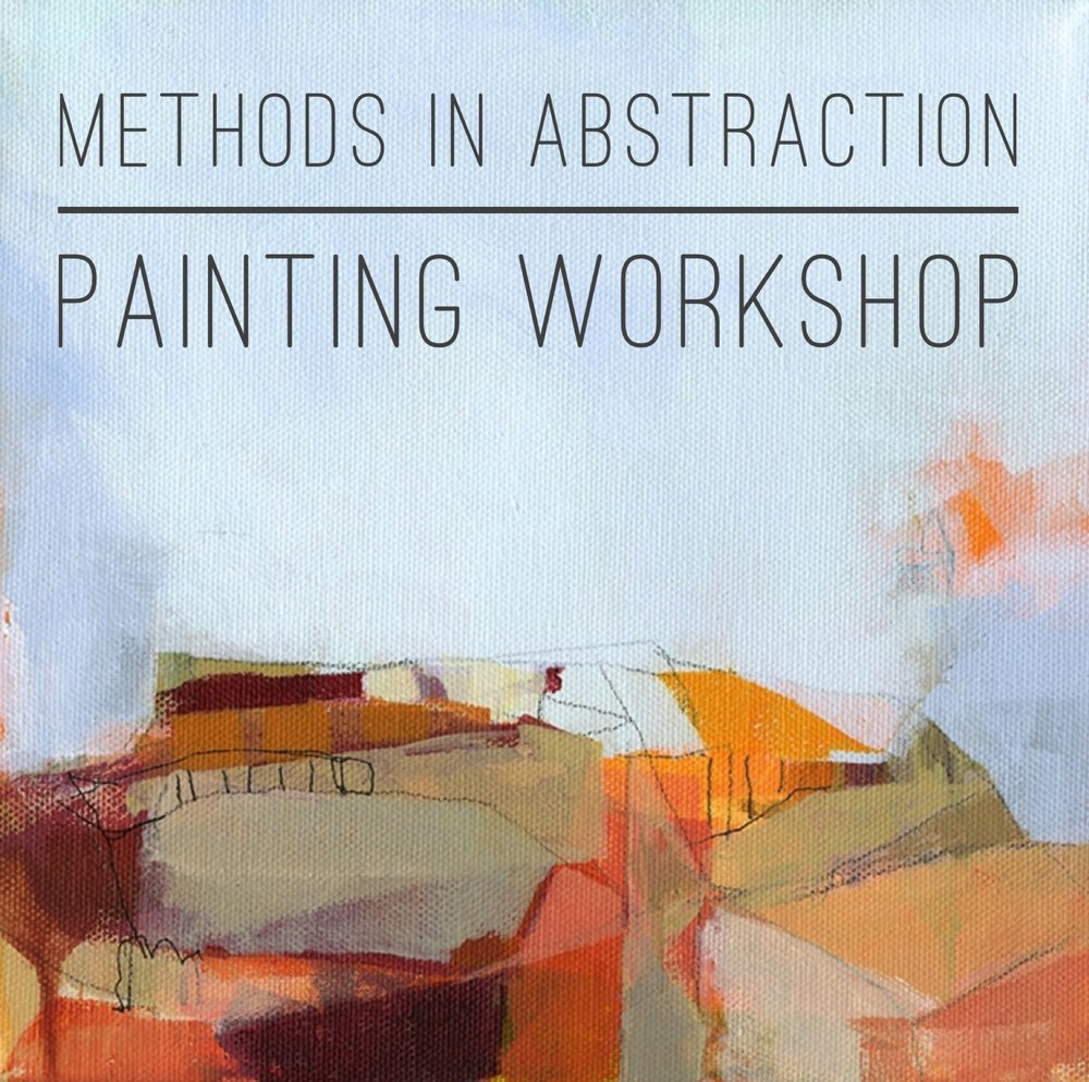 methods in abstraction painting workshop 2 still life studio