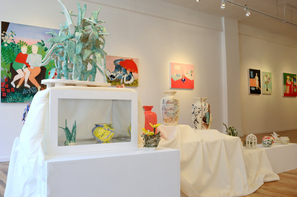 WestWall_ceramics + Paintings by all.JPG