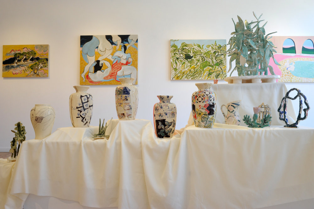 EstWall_Ceramics + Paintings_by all .JPG