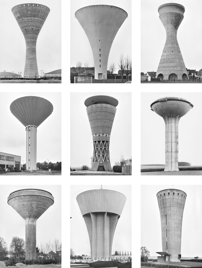 Bernd & Hilla Becher – Water Towers 1972-2009