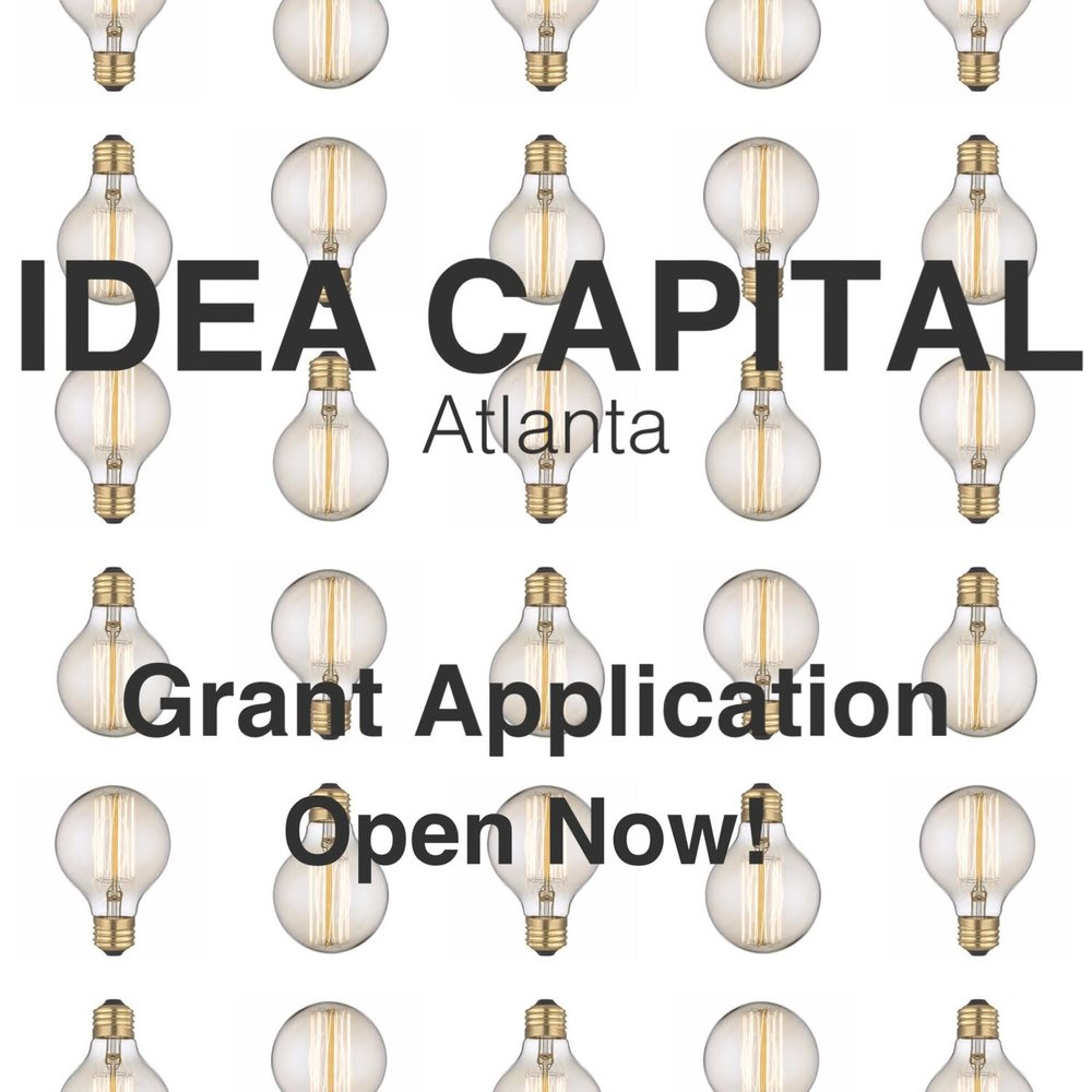 For nine years, the grass roots Atlanta arts organization Idea Capital has awarded grants to some of Atlanta's most influential artists: glo, Lucky Penny, T. Lang, Blake Butler, Sheila Pree Bright, Gyun Hur, Michi Meko, Jason Kofke, Masud Olufani. Many of our artists go on to make an important and continuing impact on the Atlanta arts scene in their disciplines whether as photographers, performers, dancers or filmmakers. And you can make your mark too by joining the talented group of creatives who since 2008 have received grants from Idea Capital and enriched this city with their work.  Play a part in one of Atlanta's most important grass roots arts organizations this year by applying for a 2018 Idea Capital grant. Our awards range from $500 to $2,000 and can help you jump start a new project or provide that last infusion of funds to complete your work. If you are an Atlanta-metro artist working in the visual arts, film, performance, theater, literature or another creative discipline and creating challenging, innovative work, we'd like to hear from you.