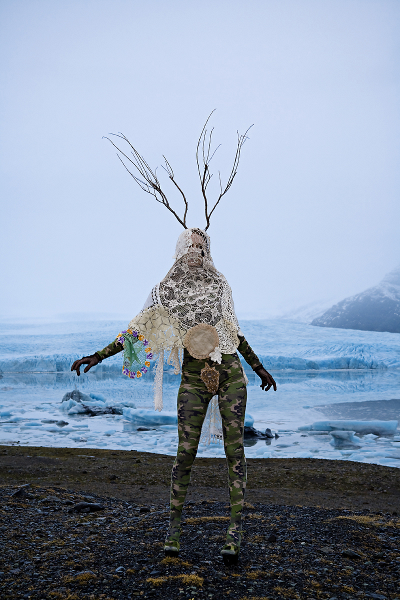 Tree Ghost performance in Iceland