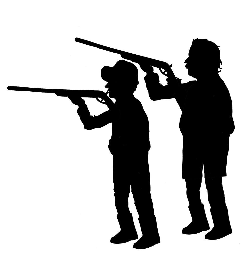 Hunters, Digital Illustration, 2018