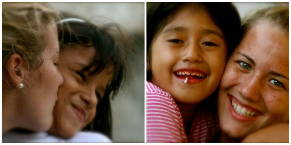 Pictures from my trips to Honduras (Maria Jose on the left is the girl I sponsor)