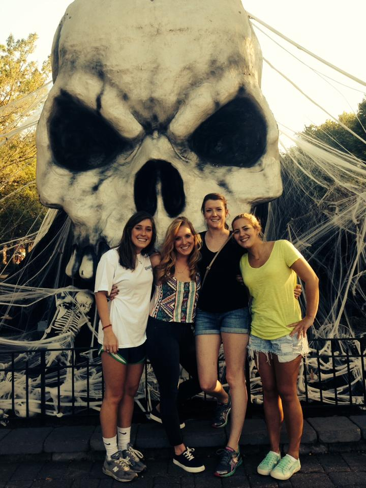 Emily, Sarah, Mary, and Me at Haunt