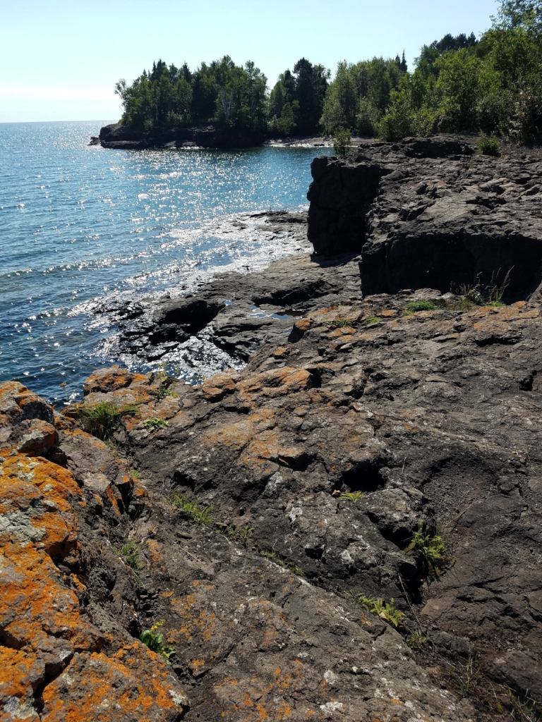 From Two Harbors, MN. Over Iona's Beach.