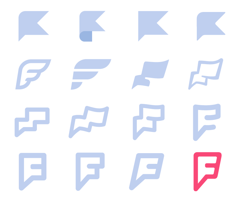 Evolution of the F Mark, by Mike McVicar and myself