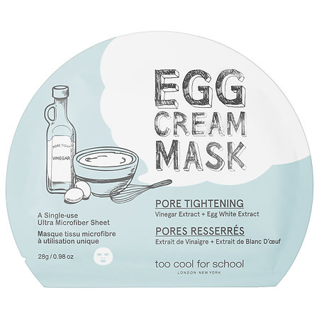 EGG - Cream Mask - Pore Tightening