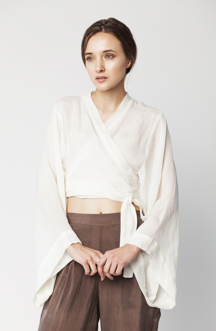 HANNA YUJIN - Mina Crop Hanbok Top