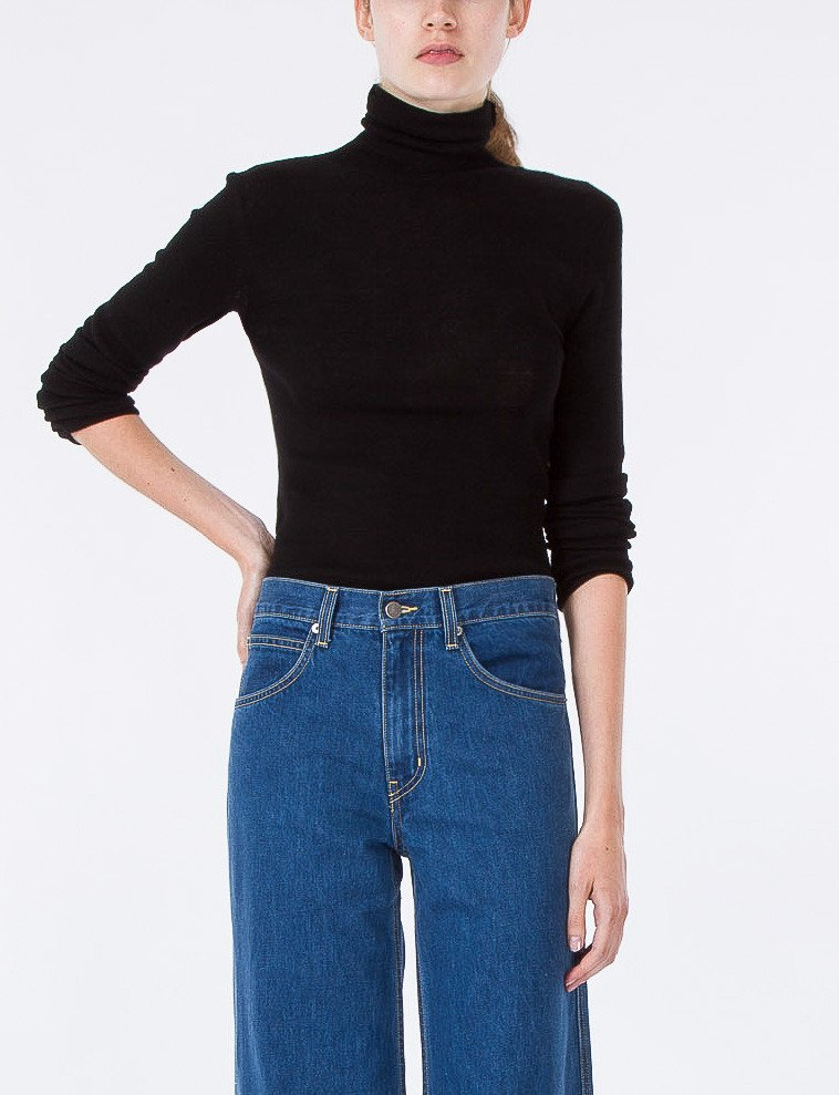 CREATURES OF COMFORT - Simple Turtleneck High Twist