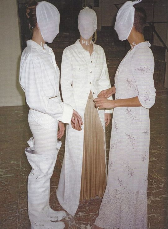 maison martin margiela exhibition, palais des beaux-arts, brussels, 1996. -
