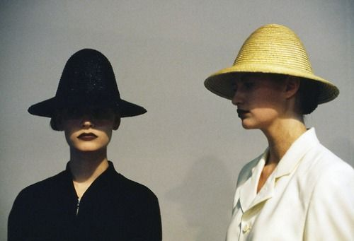牛津帽成为流行川久保玲,1987 -