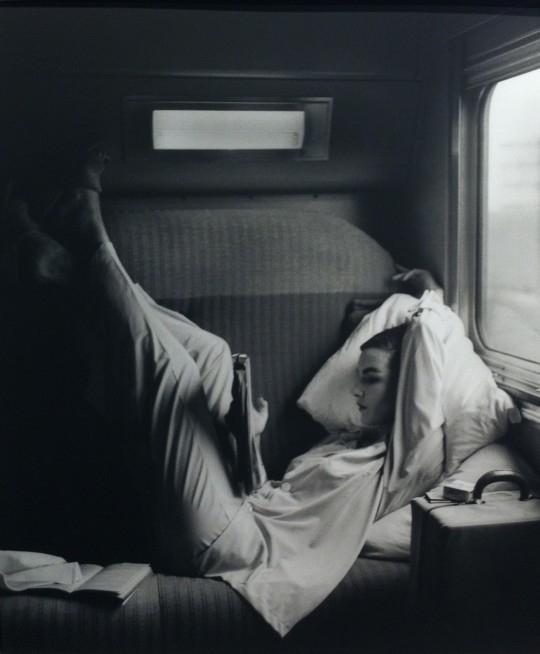 莉莲·巴斯曼,往西南方去的路上—粉色的落日,1951 -