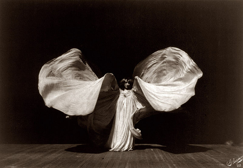 Loïe Fuller, 1862-1928, pioneer of modern dance & theatrical lighting -