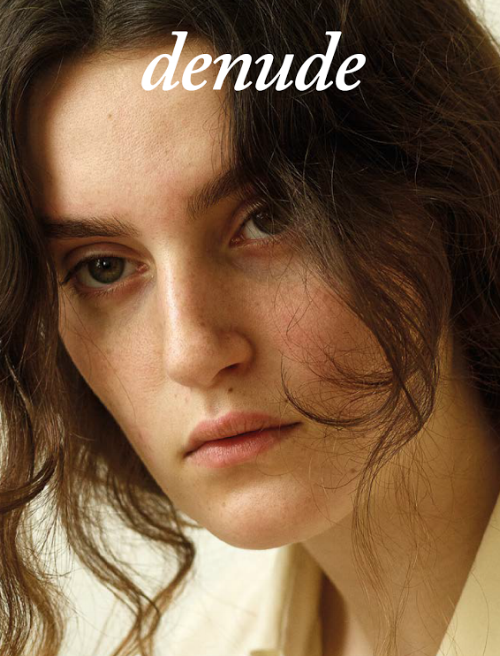 - Denude Magazine is an independent printed publication for the honest, intelligent and thoughtful woman. With a modern minalmislistic approach at style, authentic and whole conversations with the woman of today, highlighting cherished products, I present to you Denude's approach on the timeless woman and what they have to say....