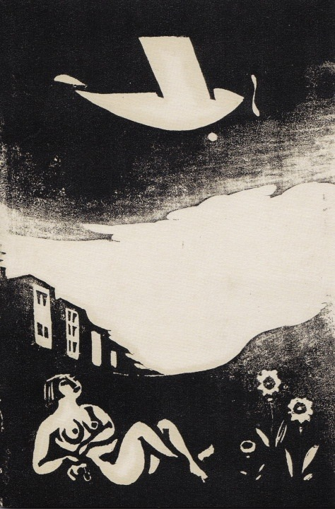 Yasunori Taninaka, Night Flight, 1930 -