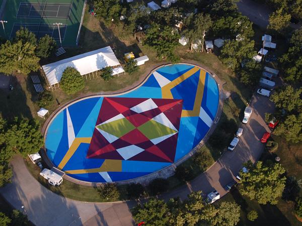 Paintings for Satellites/Oakdale Carver Pool