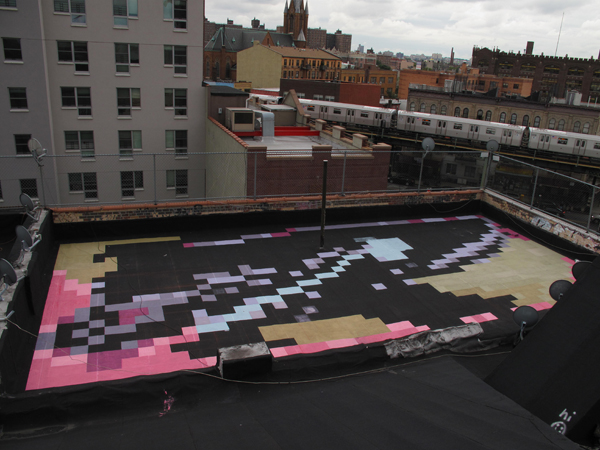 Paintings for Satellites/16 Manhattan