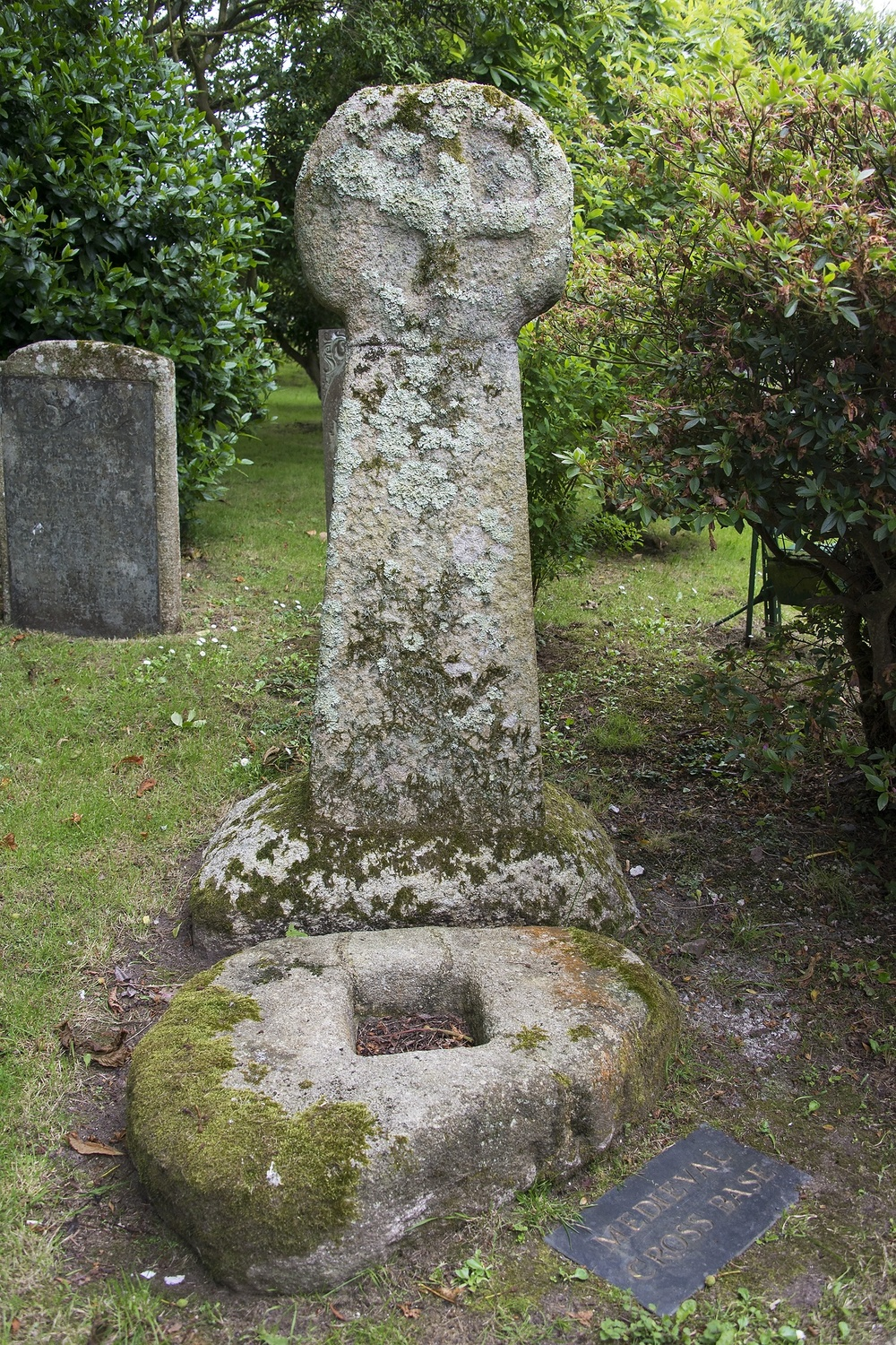 The ancient Celtic cross