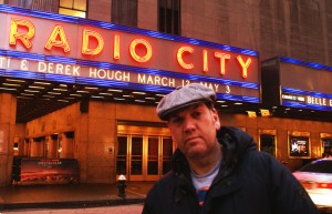 Sam at Radio City